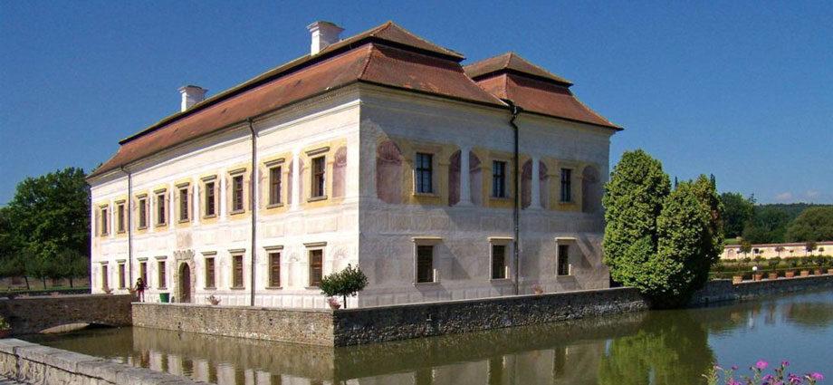 Zámek Kratochvíle - Schloss Kurzweil